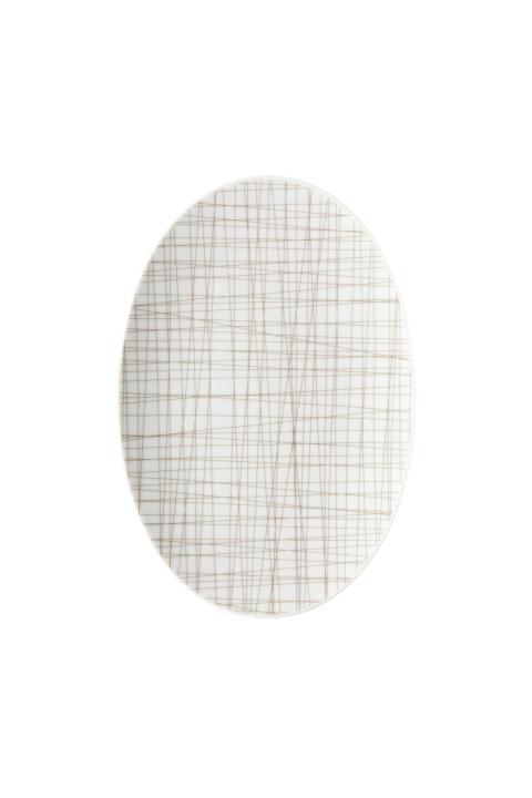 R_Mesh_Line Walnut_Platter 25 cm