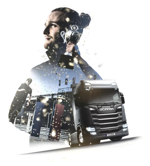 Scania Driver Competitions - Noch bis 31. Januar anmelden!