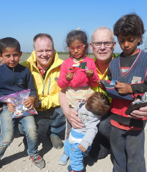 Lions nye ordförande om Lions viktiga satsning för flyktingbarn i Turkiet