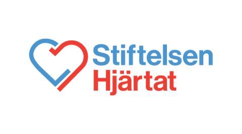 Logga Stiftelsen Hjärtat. www.stiftelsenhjartat.se