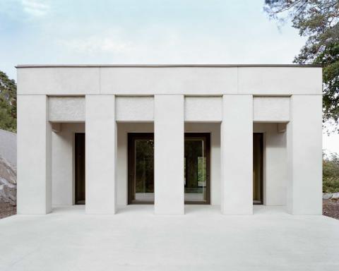 Villa Skuru kan få designpriset Design S. Visas på ArkDes 11-27 okt.