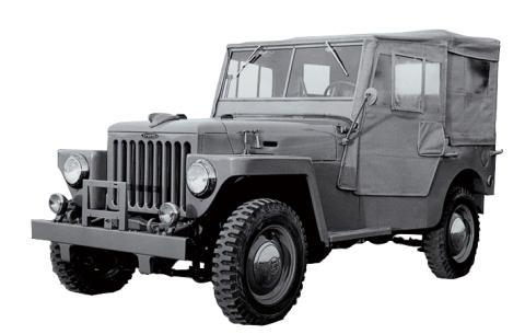 1951 TOYOTA JEEP BJ SERIES(軽)