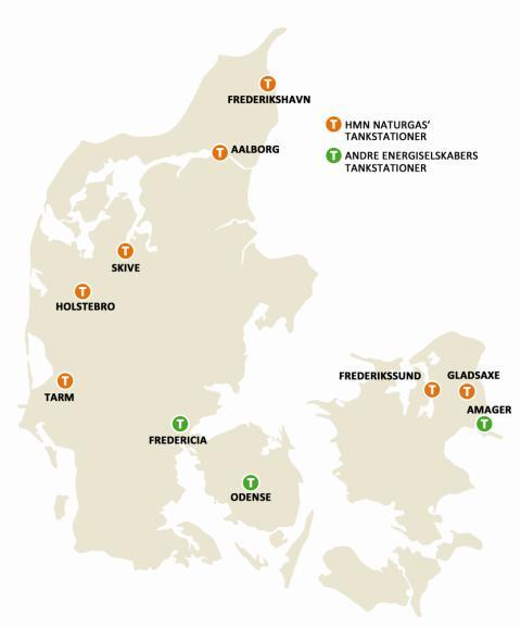 Gasfyldestationer i Danmark