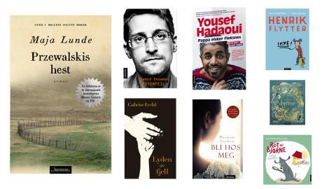 Aschehoug forlag: Nye bøker uke 38