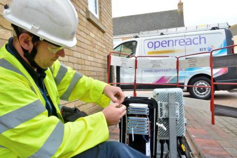 Fownhope welcomes faster broadband