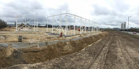 Byggeriet af BAUHAUS Gladsaxe er i gang