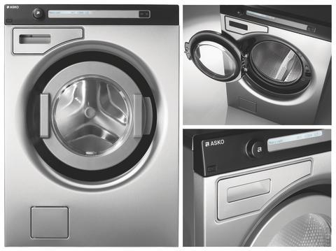 ASKO lanserar nya professionella tvättmaskiner