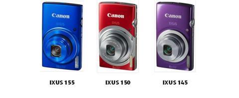 Canon lanserer tre spennende, nye IXUS-kameraer – finn det som passer din stil