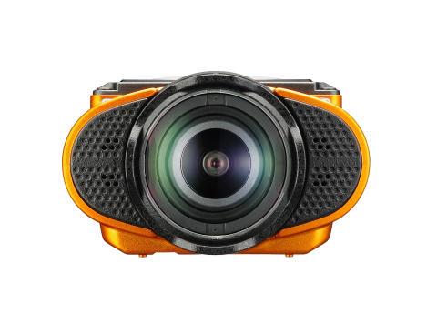 Ricoh WG-M2 orange, forfra