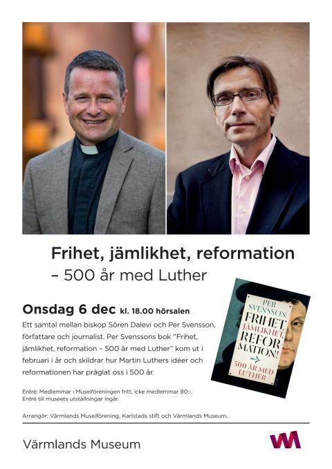 Ett samtal mellan Per Svensson, författare och journalist och biskop Sören Dalevi. 6 december 2017.