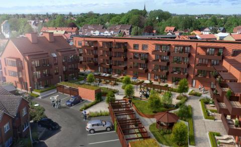 Säljstart för seniorbostäder i Riksbyggens Bonum Brf Kilen i Kävlinge