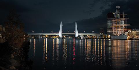 Så kommer den nya Göta älv-bron se ut