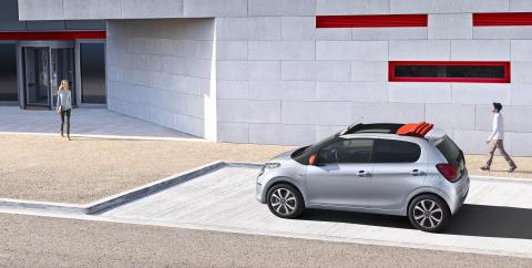 Nya Citroën C1 - Citybilen i ny tappning