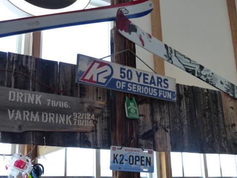 K2 Skiers Bar Ramundberget