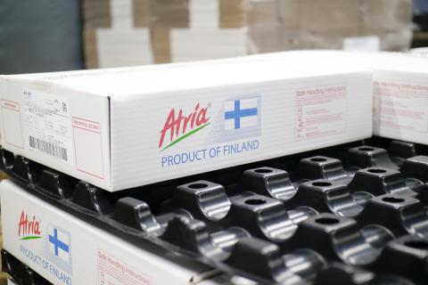 Atrian tuotteiden vienti Kiinaan käynnistyi toukokuussa 2017