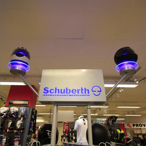 Ljusskylt Schuberts