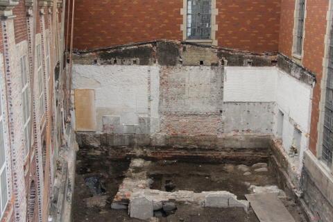 Holmens Kirke - murværk