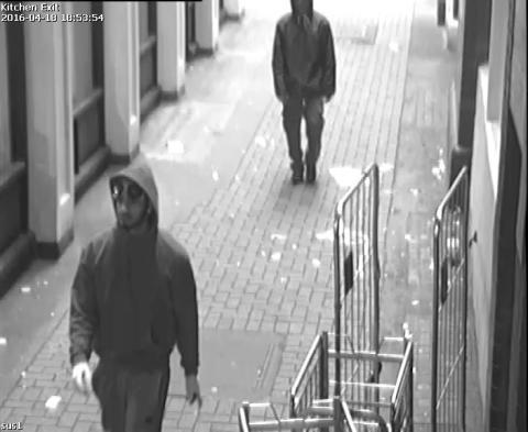 CCTV Still 1 - Stabbing in Camden