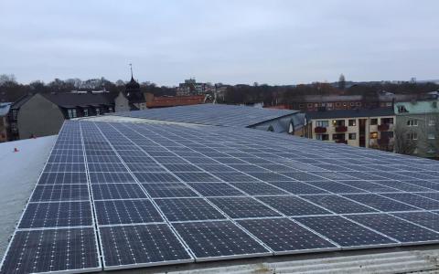 PRESSINBJUDAN: Solcellsinvigning på Dammgården i Lund