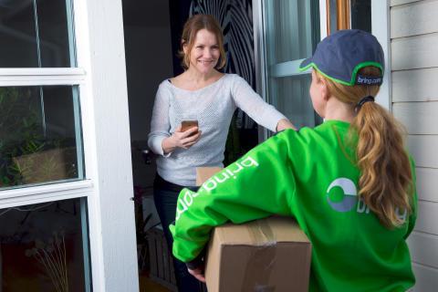 Kundenes tilfredshet med Posten og Bring øker.