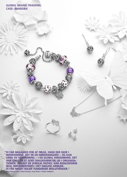 Pandora får indsigt i vores motivation for at købe smykker