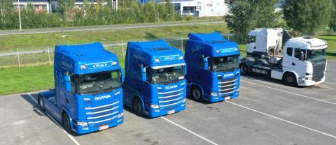 Tre procents bränslebesparing för Wiklund Transport