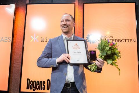 Peter Ekholm Årets samhällsbyggare