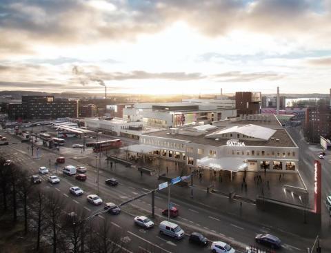 Sponda valitsi Aren kauppakeskus Ratinan kiinteistön ylläpitoon
