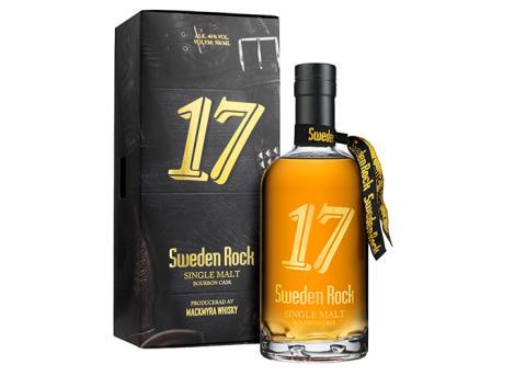 Mjuka aromer möter hårda riff i ny limiterad whisky från Sweden Rock