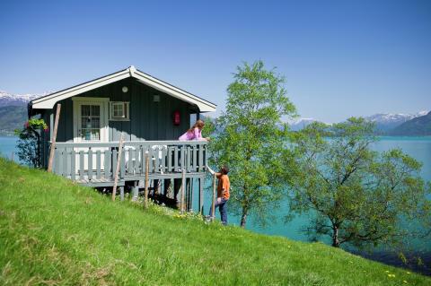 Eine Hütte in Hardanger