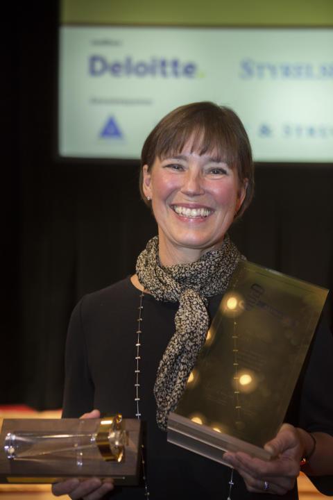 Monica Lindstedt belönas med Guldklubban 2013