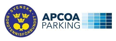 Svenska bordtennislandslaget skriver sponsoravtal med Apcoa Parking AB