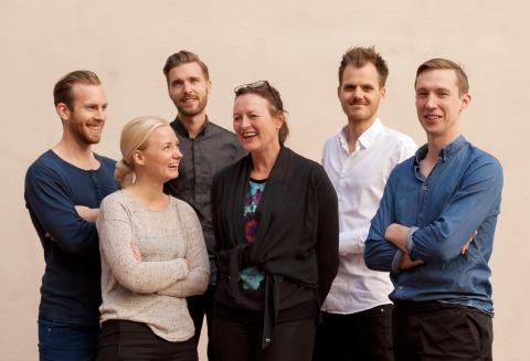 Martin Nilsland, Siri Lindberg, Anders Johnsson, Katarina Nilsson, Staffan Rosvall, Viktor Lindström - Nyanställda på BSK Arkitekter