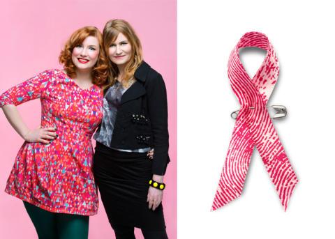 Sevan stödjer Cancerfondens Rosa Bandet Kampanj 2013