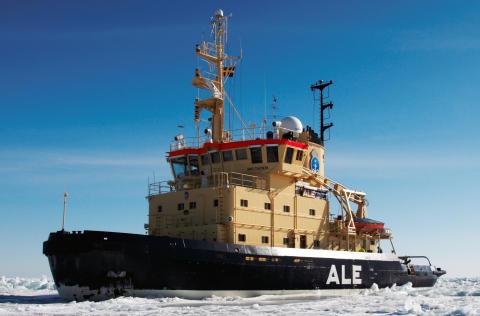 Isbrytaren Ale inleder årets isbrytarsäsong