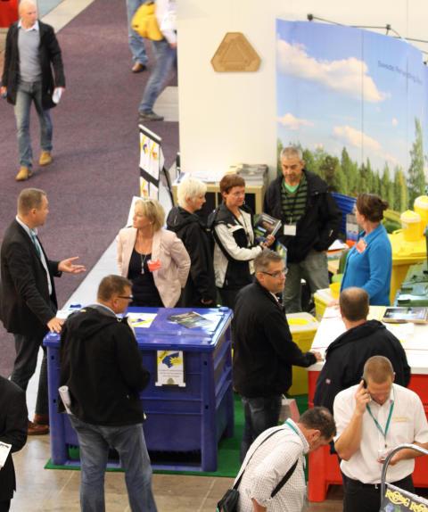 Bild från Elmia Waste & Recycling 2011