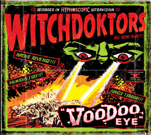 "Bomber Music Presents:  WitchDoktors, ""Voodoo Eye"" - New Album Release - UK Tour Dates"