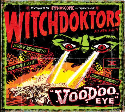 """WitchDoktors """"Voodoo Eye"""" LP"""