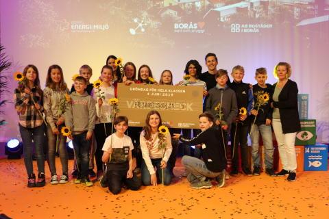 Drömstaden - en ny generation miljöhjältar – Vinnare Bredaredskolan 5