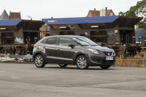 Suzuki Baleno Xtra modeller til en skarp pris