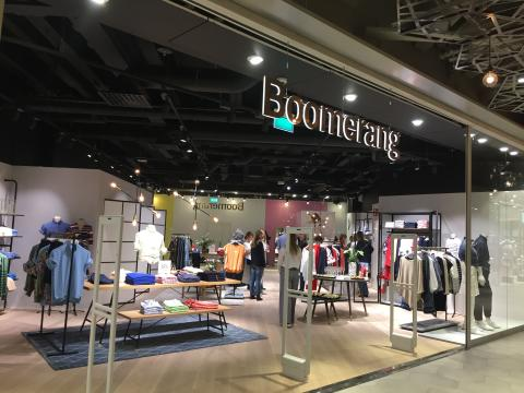 Boomerangs nya butik i  Nordstan - premiär idag 6 april