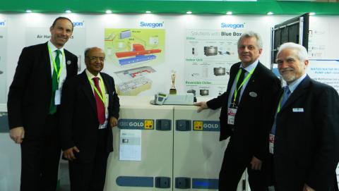 Award-winning Swegon opens new factory in India