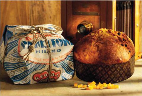 Det vackraste paketet i jul – Italiensk surdegspanettone i stilsäkra retroförpackningar från G Cova
