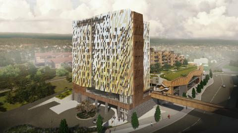 Nytt Røkke-hotell i Kongsberg