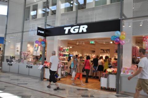 TGR har nu öppnat i Haninge Centrum