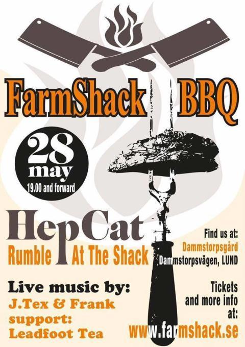 HepCat Rumble at Farmshack BBQ