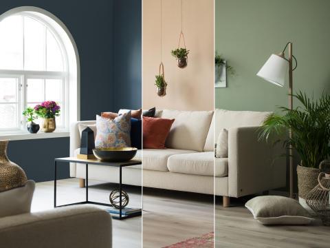 Tidløs sofa = trendy stue!
