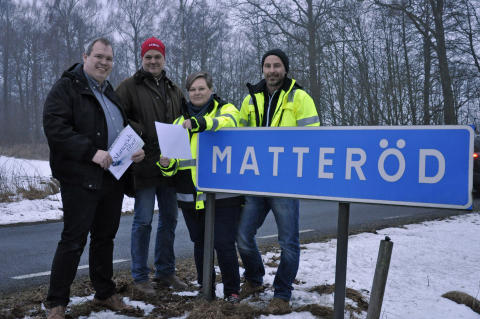 Hässleholms kommun har tecknat en avsiktsförklaring med Matteröds fiber för utbyggnad av fiber.
