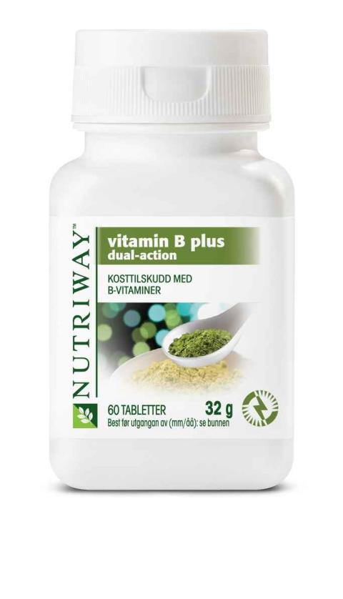 Nytt B-vitamin med dobbeltvirkende teknologi – et styrkemiddel som bekjemper trøtthet
