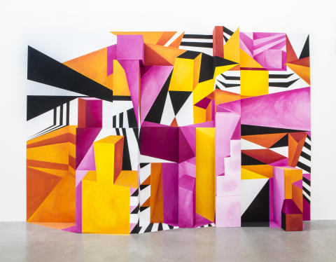 Illusion, färg och komposition. Formgivare: Emma Brålander. Foto: Erika Kindblad